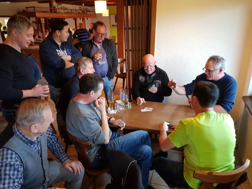 Vorrunde Gruppe 2: Uwe, Klaus, Bernd und Lupi
