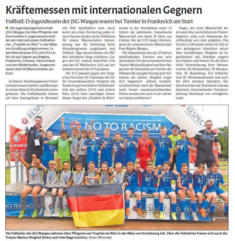 D-Jugend JSG Wasgau 2018/2019